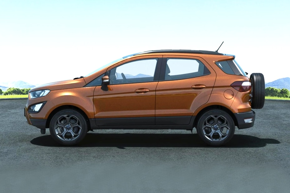 Ford EcoSport Side View (Left)