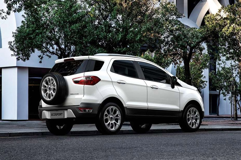 Ford EcoSport Rear Left View