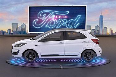 Ford Figo Side View (Left)