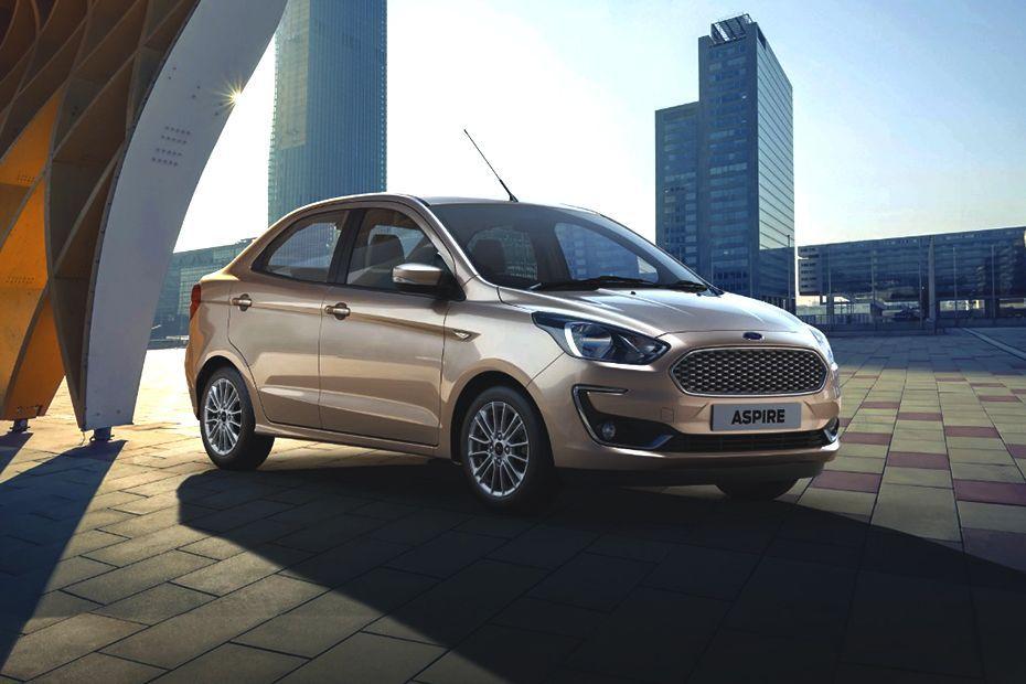 Ford Aspire 2018 Front Left Side Image