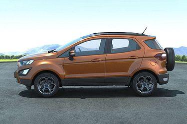 Ford EcoSport Sleek Side Profile