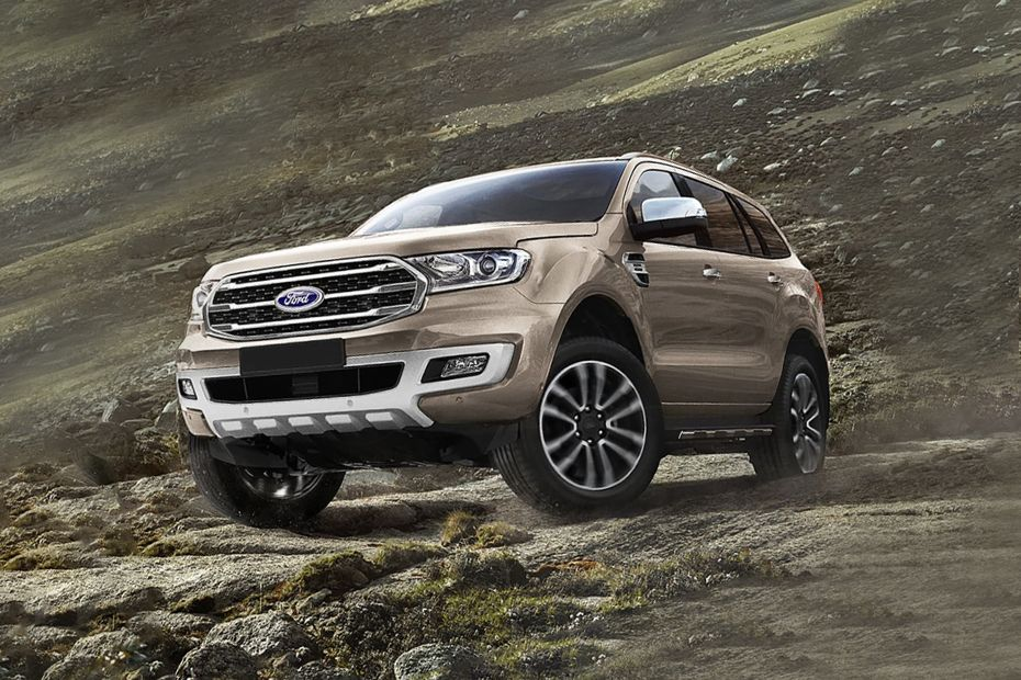 Ford Endeavour 2019 Front Left Side Image