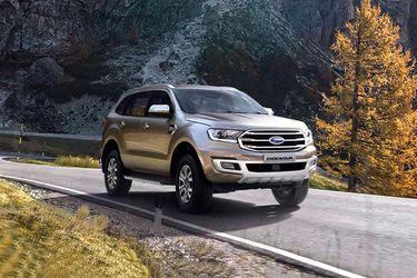 Ford Endeavour Front Left Side Image