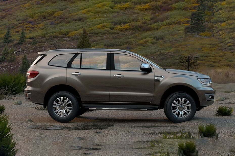 Ford Endeavour Side View (Left)  Image