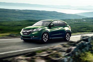 Honda Vezel Front Left Side Image