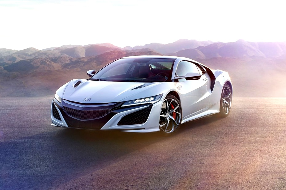 Honda NSX Front Left Side