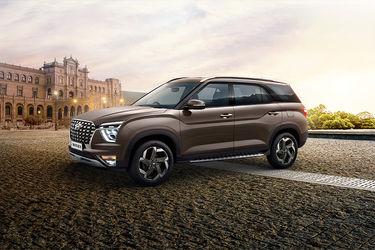 Hyundai Alcazar Front Left Side