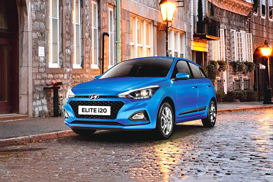 Hyundai Elite i20 Front Left Side