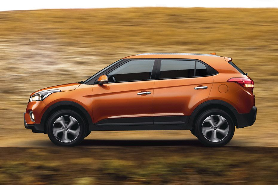 Hyundai Creta Powerful Side Stance