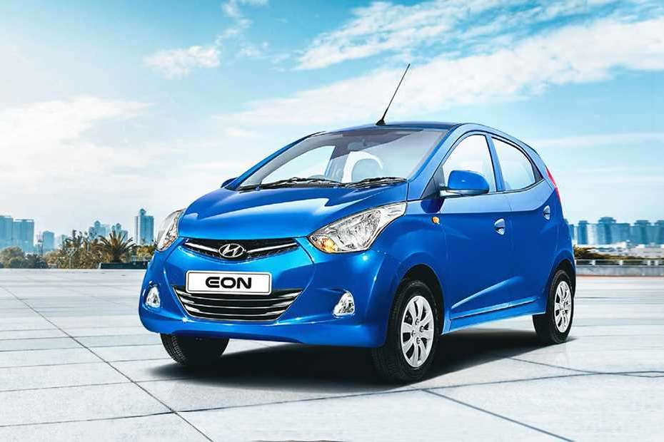 Hyundai EON Front Left Side Color