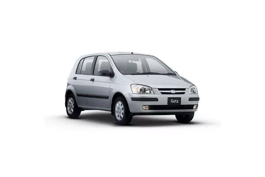 Hyundai Getz Front Left Side Image