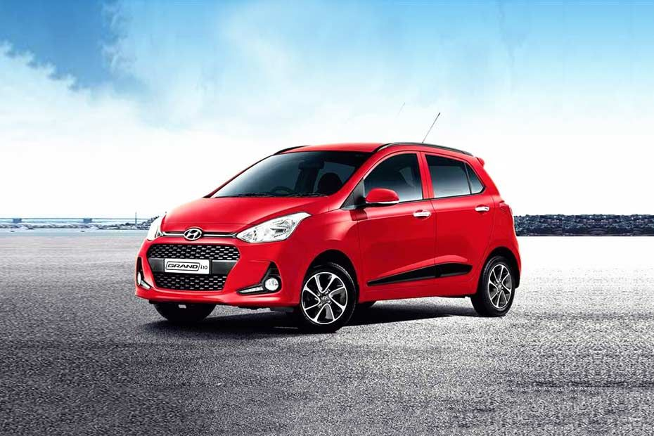 Hyundai Grand i10 Front Left Side Color