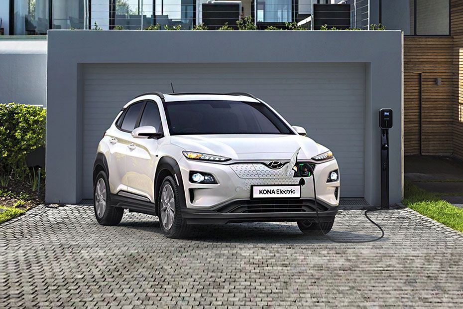 Hyundai Kona Electric Front Left Side Image