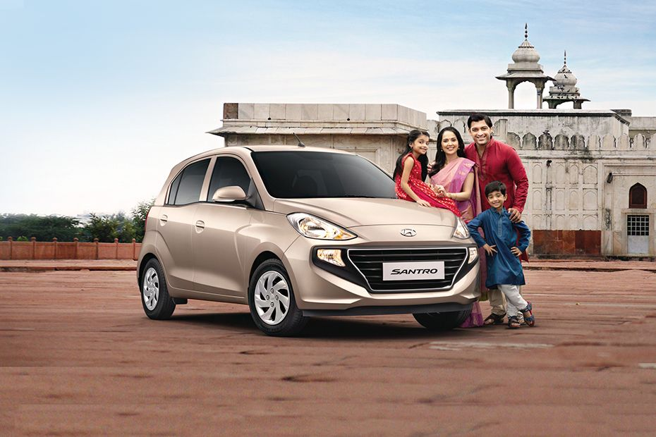 New Hyundai Santro on Road