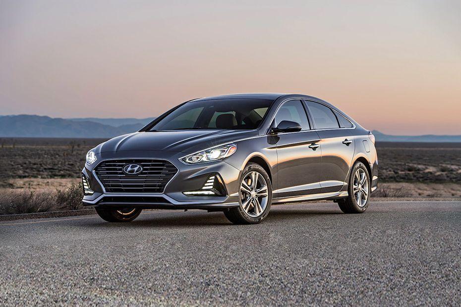Hyundai Sonata Front Left Side Image