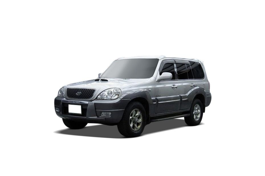 Hyundai Terracan Front Left Side Image