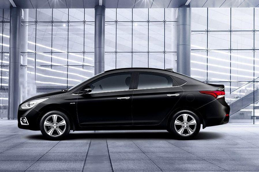 Hyundai Verna Sharp Character Lines