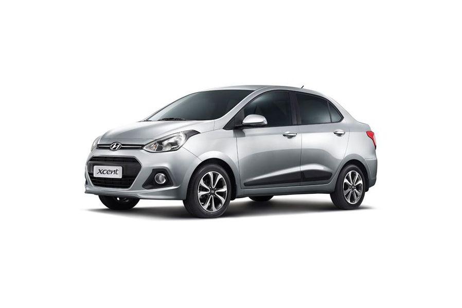 Hyundai Xcent 2014-2016 Front Left Side Image