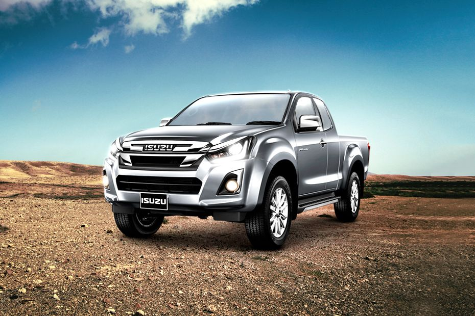 Isuzu D-Max V-Cross 2019 Front Left Side Image