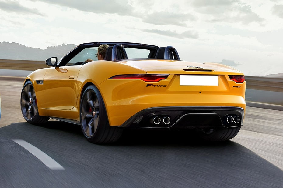 Jaguar F-TYPE Rear Left View
