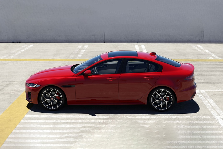 Jaguar XE Side View (Left)