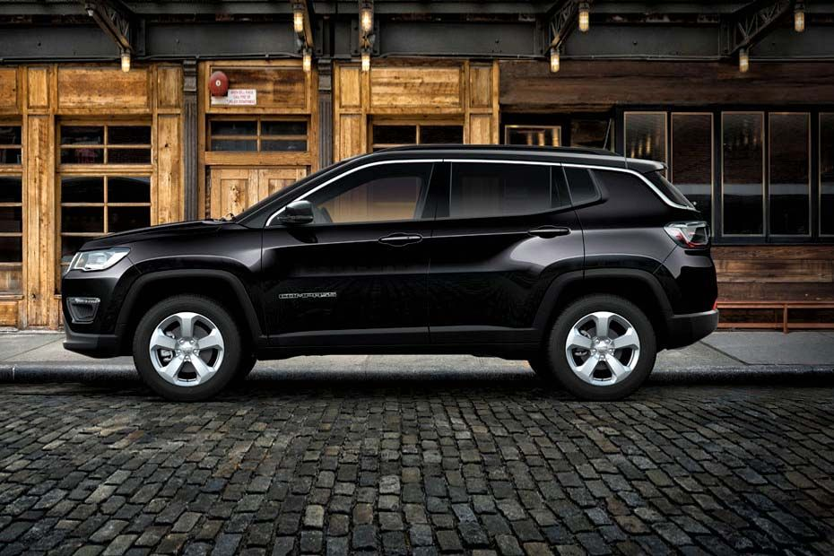 Jeep Compass Striking Side Profile