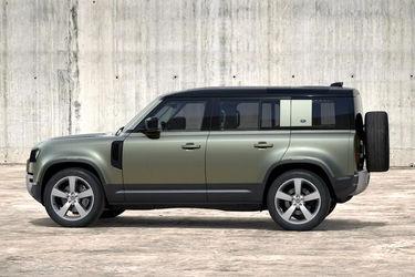 Land Rover Defender Side View (Left)