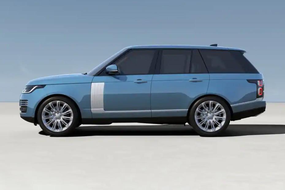 Land Rover Range Rover Side View (Left)