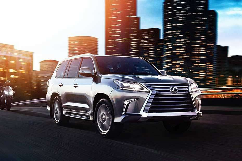 Lexus LX Front Left Side Image