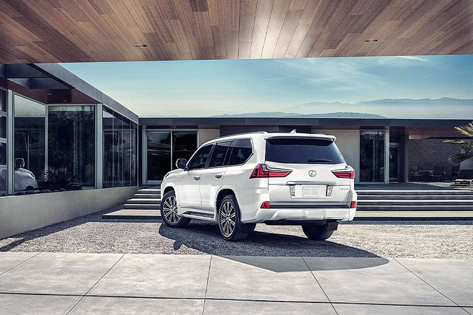 Lexus LX Rear Left View Image