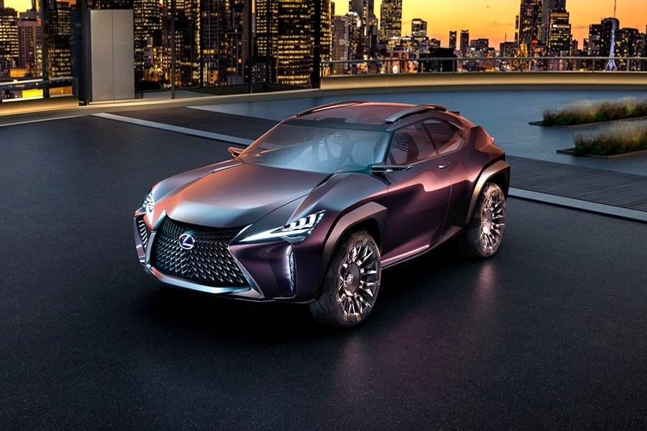 Lexus UX Front Left Side Image