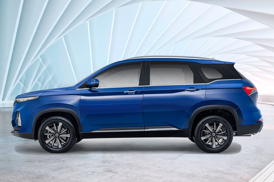 MG Hector Plus Side View (Left)