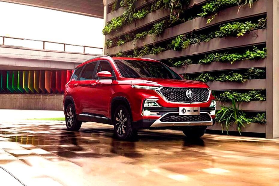 MG Hector Front Left Side Image