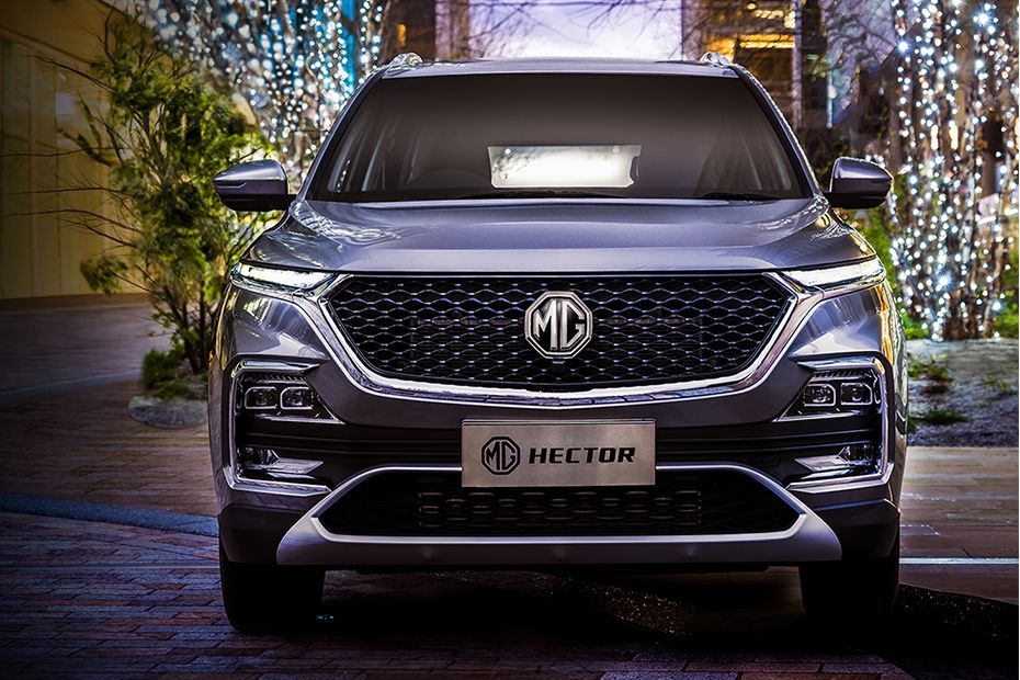 MG Hector Front View Image