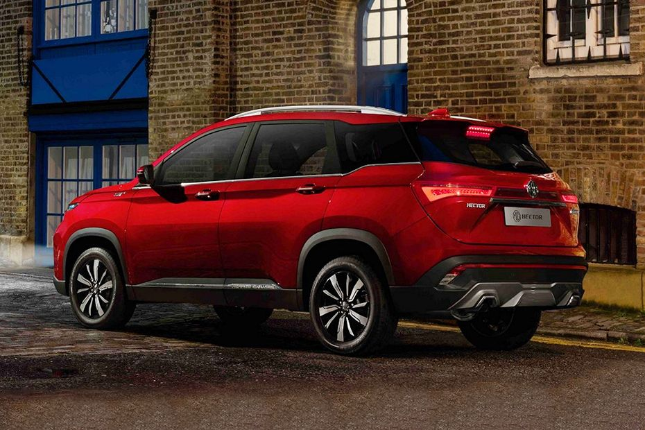 MG Hector Rear Left View Image