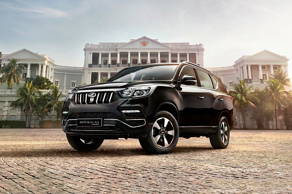 Mahindra Alturas G4 Front Left Side Image
