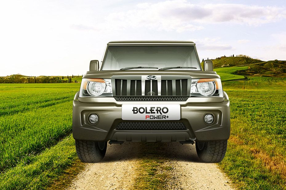Mahindra Bolero Power Plus Front View Image