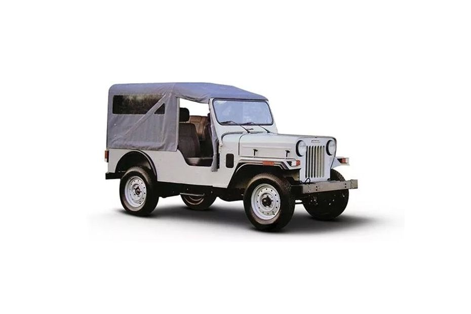 Mahindra Jeep Front Left Side Image
