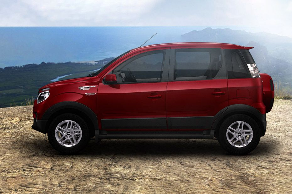 Mahindra NuvoSport Side View (Left)  Image