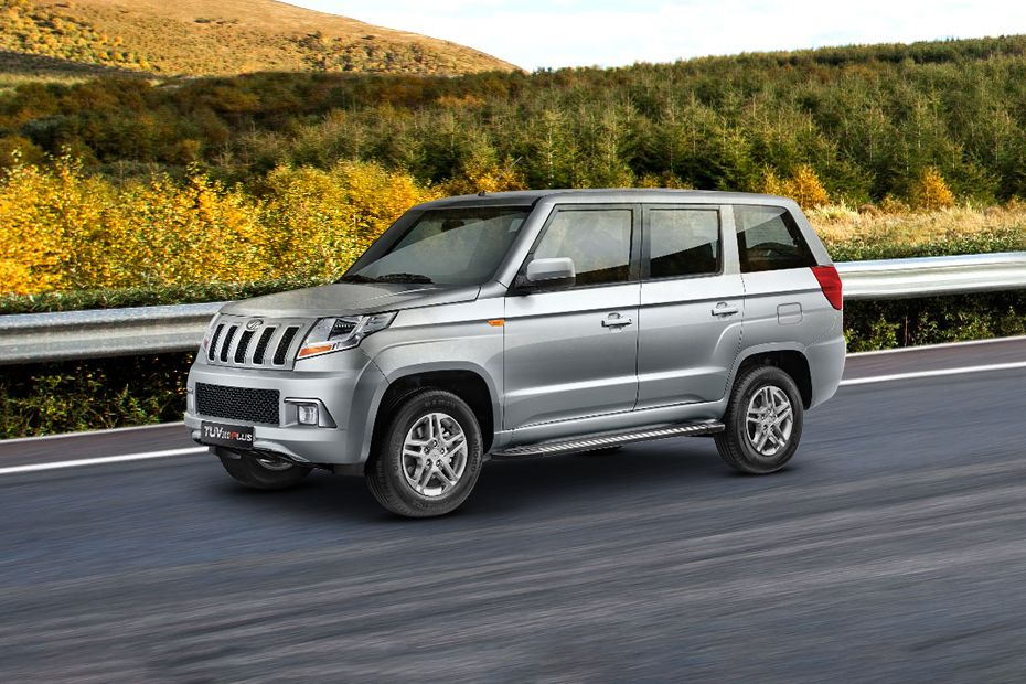 Mahindra TUV 300 Plus Front Left Side Image