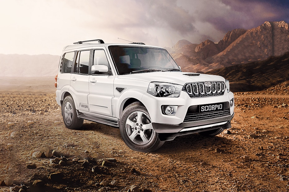Mahindra Scorpio Front Left Side