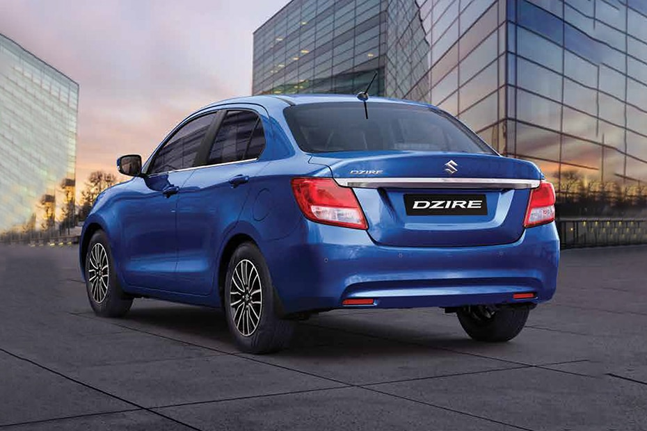 Maruti Dzire Rear Left View
