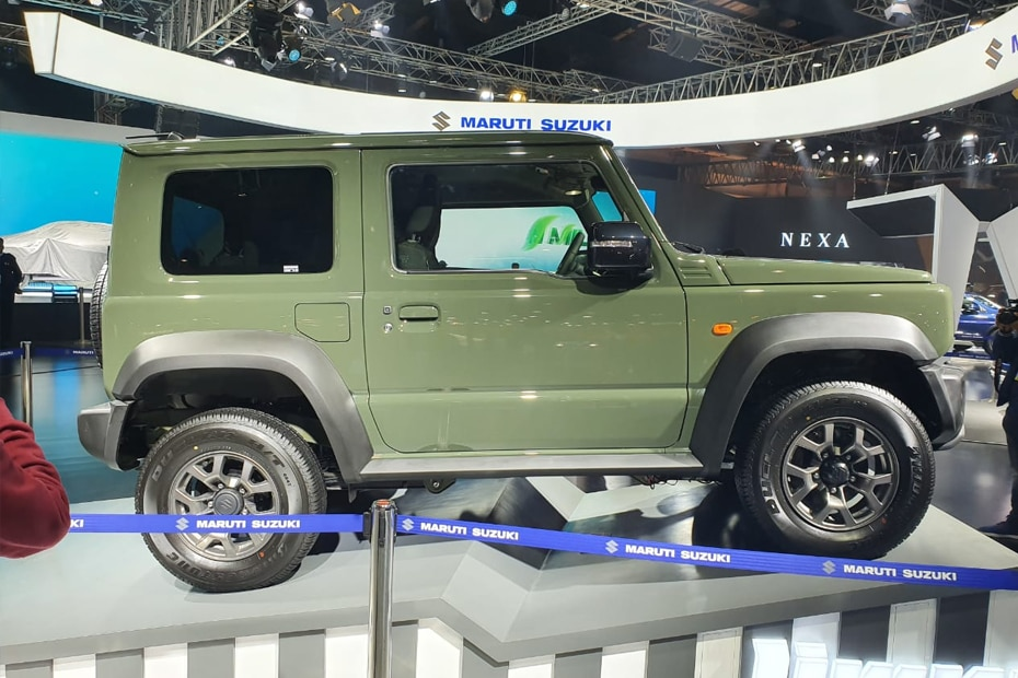 Maruti Jimny Side View (Left)