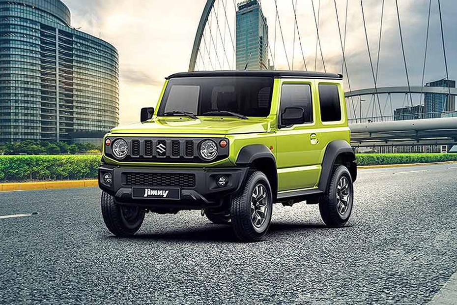 Maruti Jimny Front Left Side