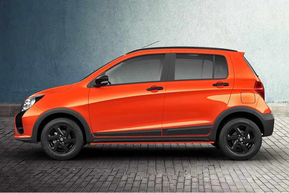 Maruti Celerio X Rugged Side Profile