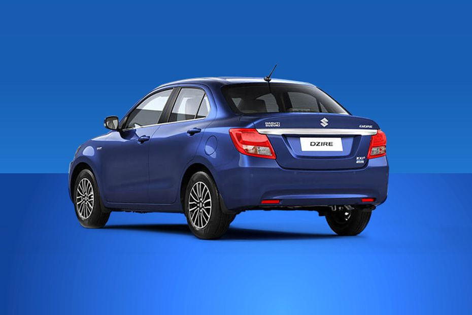 Maruti Dzire Rear Left View Image