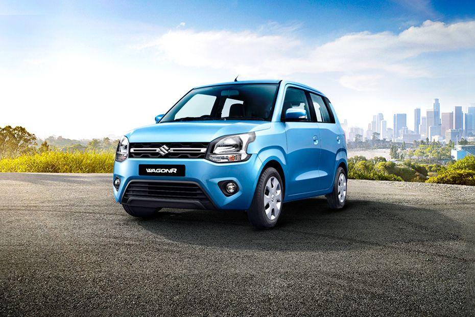 New Maruti Wagon R Front Three-Quarters