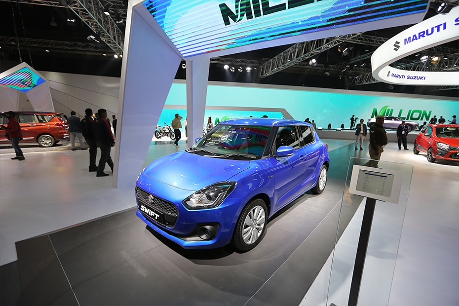 Maruti Swift Hybrid Top View