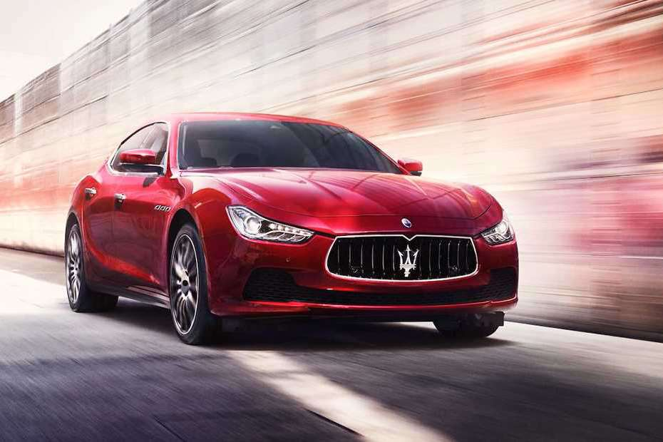 Maserati Ghibli Front Left Side