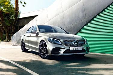 Mercedes-Benz C-Class Front Left Side